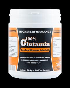 L-Glutamin Aminosäure, 100% reines L-Glutamin, 300g
