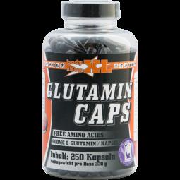 L-Glutamin Aminosäure, 250 Kapseln
